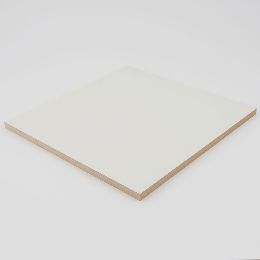 2440x1220x15mm White Melamine Faced MDF