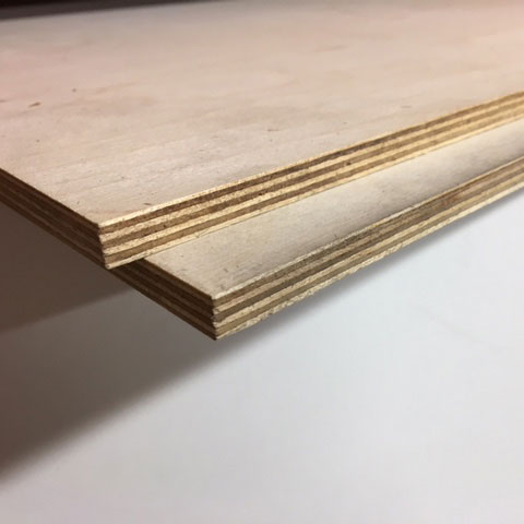 2440x1220x9mm Birch Plywood BB Grade