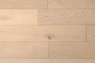 Blenheim Natural Oak White Oiled Flooring 18x150mm