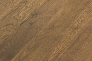 Blenheim Natural Oak Handscraped Stained Oiled Flooring 18x150mm